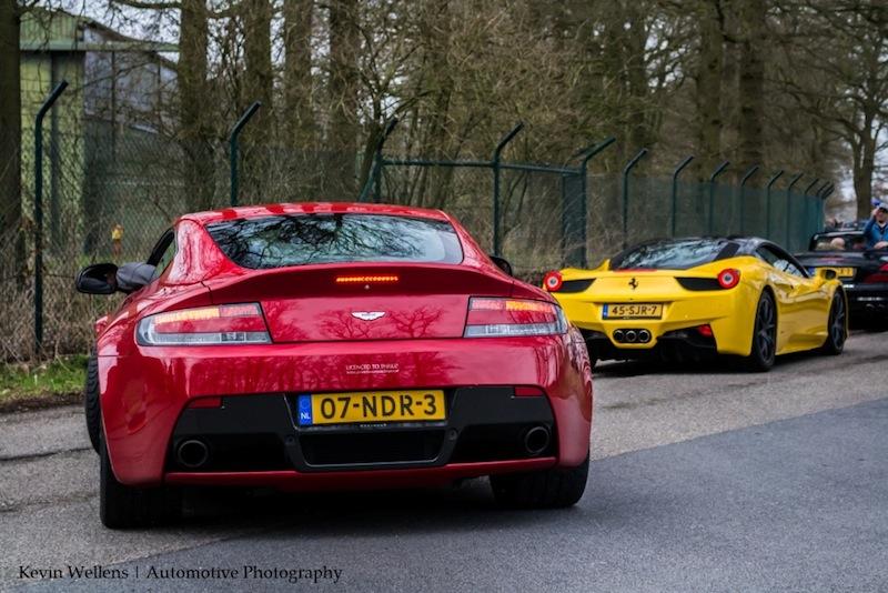 v12 vantage rear - spring event