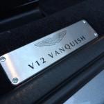 V12 Vanquish S - sill plaque