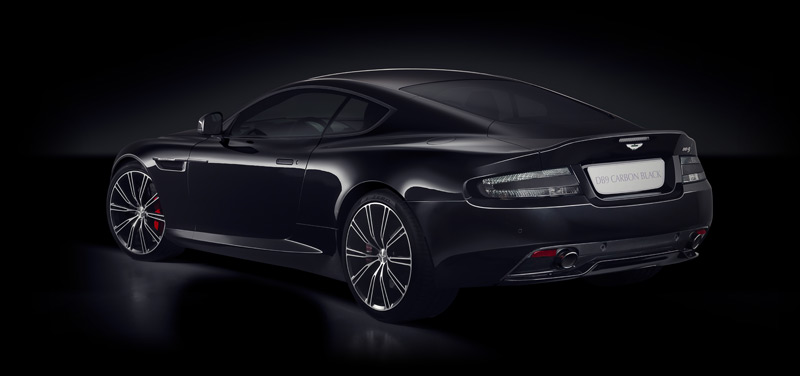 DB9 Carbon Black - rear