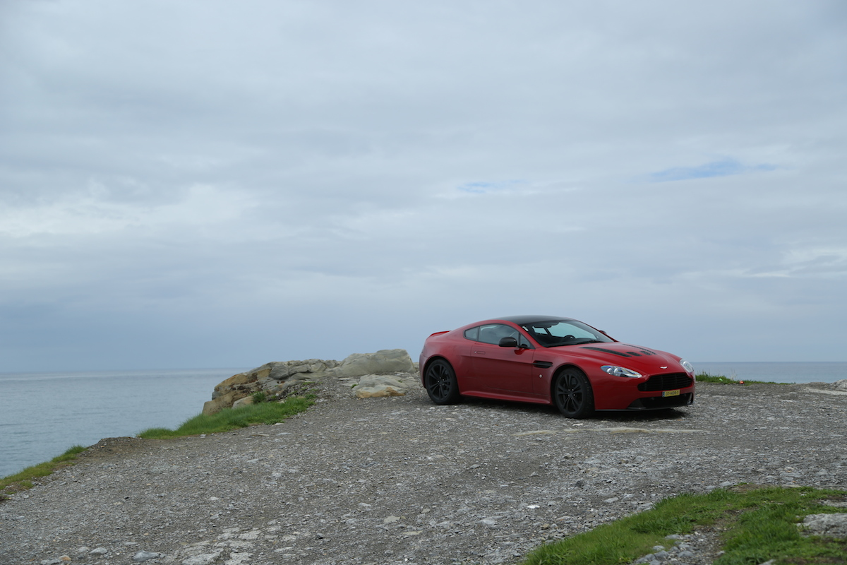 V12 Vantage in the Pyrenees